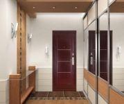 Входная металлическая дверь Форпост. Модель С-128. Вид в интерьере