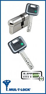 Цилиндр Mul-T-Lock MT5+